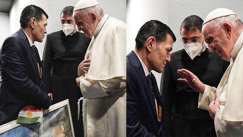 Vatikan: Papa, Erbil'de Alan Kurdi'nin ailesi ile görüştü