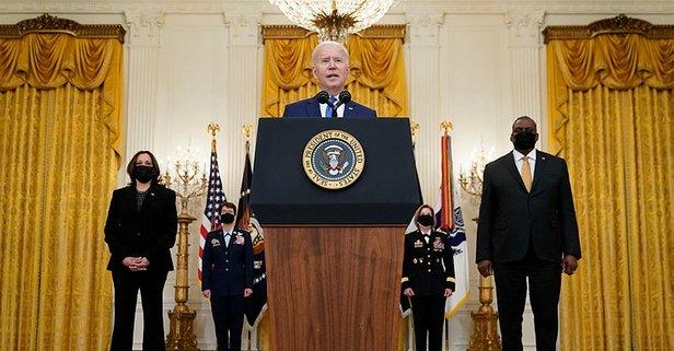 Biden, Savunma Bakanı'nın ve bakanlığın ismini unuttu!