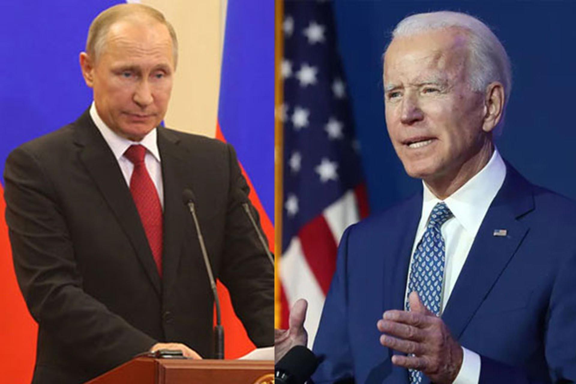 Putin ve Biden, Ukrayna'daki askeri gerginliği görüştü