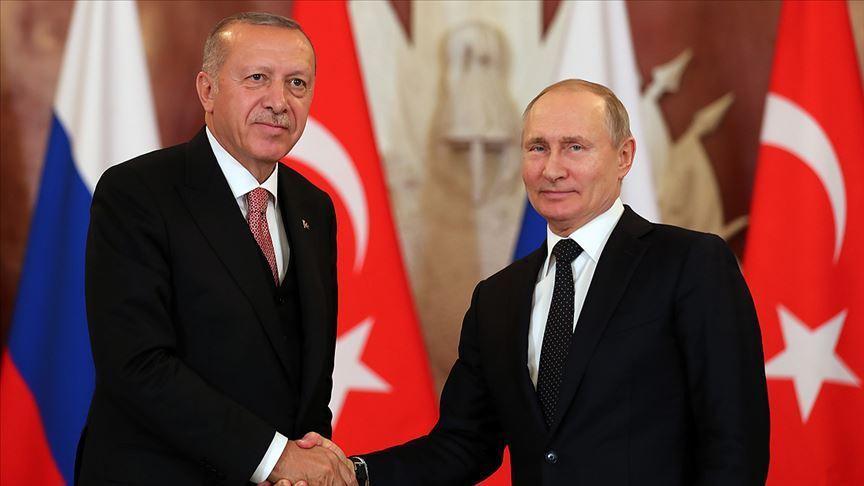 Erdoğan ve Putin, Donbas gerilimi ve Kanal İstanbul'u görüştü