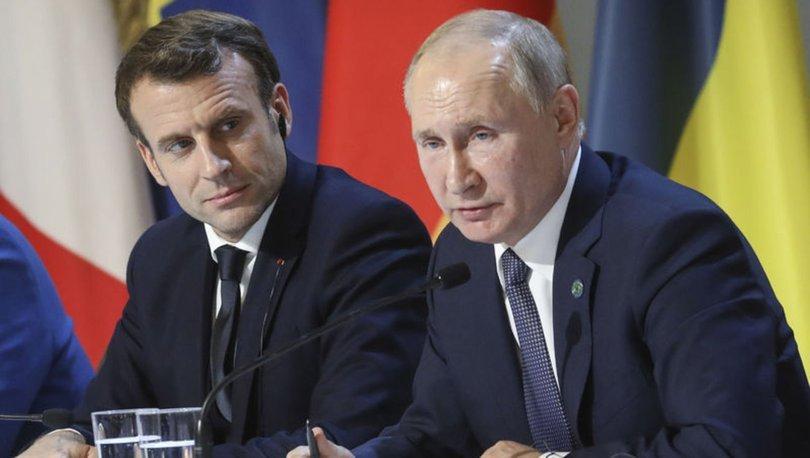Putin: Macron, işbirliği teklifimizi geri çevirdi