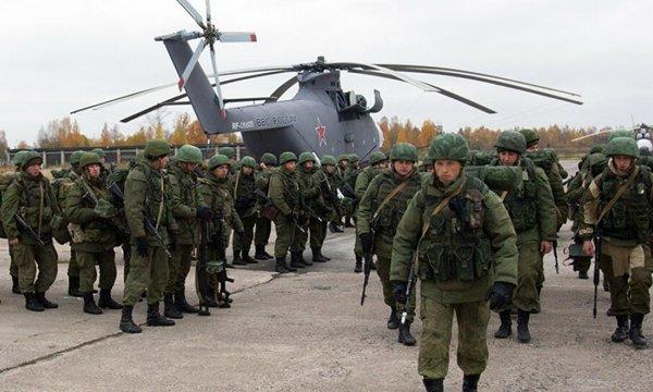 AB: Rusya, Kırım yarımadasına 150 bin asker konuşlandırdı