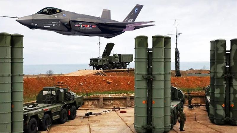 ABD'den itiraf: S400 sistemi, F-22 ve F-35'i tespit edebiliyor