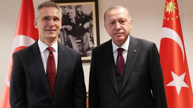 Erdoğan ve Stoltenberg, Ukrayna gerilimini görüştü