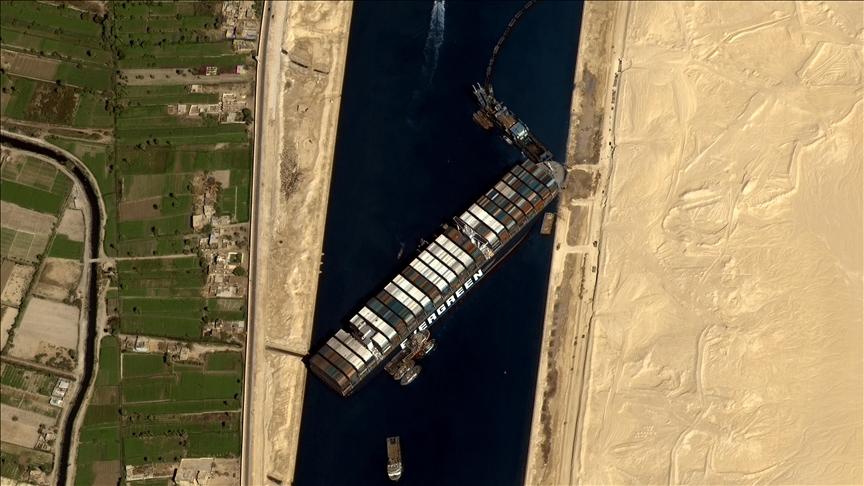 Mısır'dan Süveyş Kanalı'ndaki krize ilişkin açıklama!