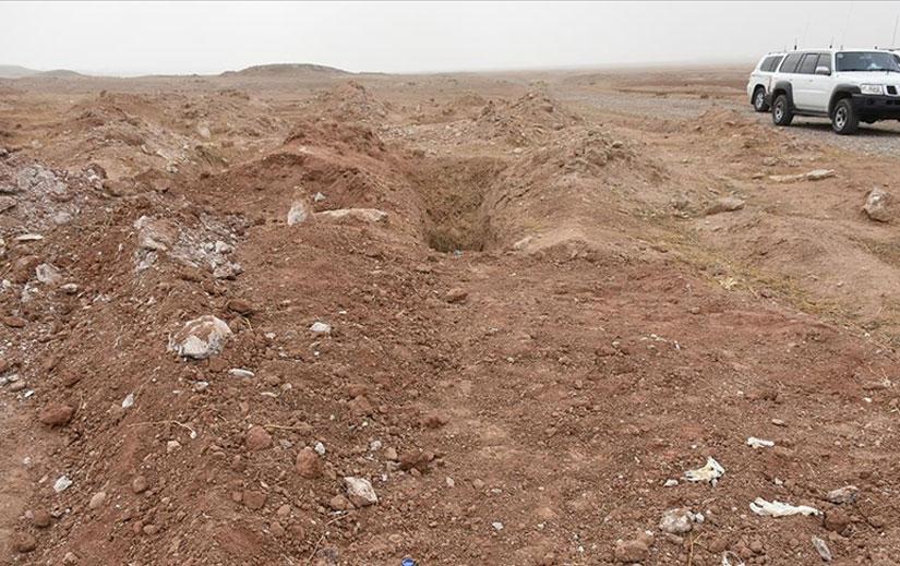 Irak'ta IŞİD'in infaz ettiği 20 kişilik toplu mezar bulundu