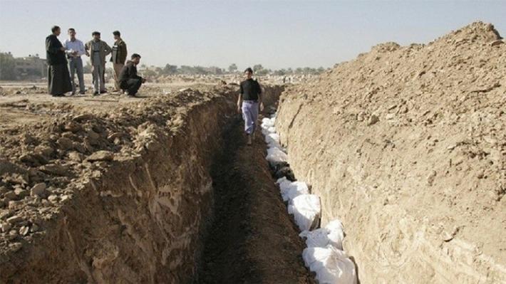Ninova'da IŞİD'in katlettiği 400 kişilik toplum mezar bulundu