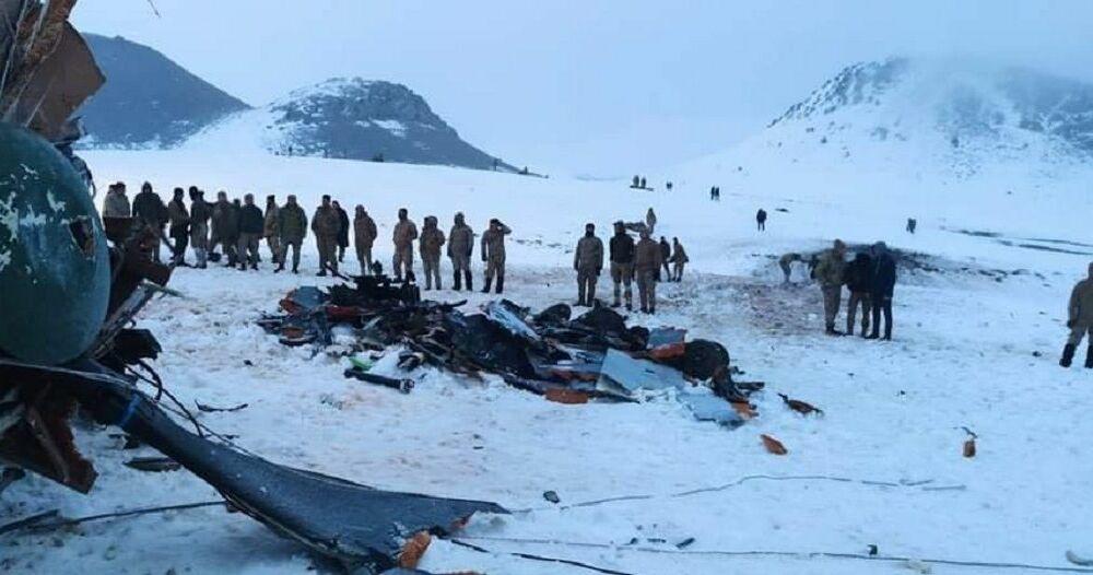 """Türkiye: """"Helikopter kazasında patlama ve yanma yok"""""""