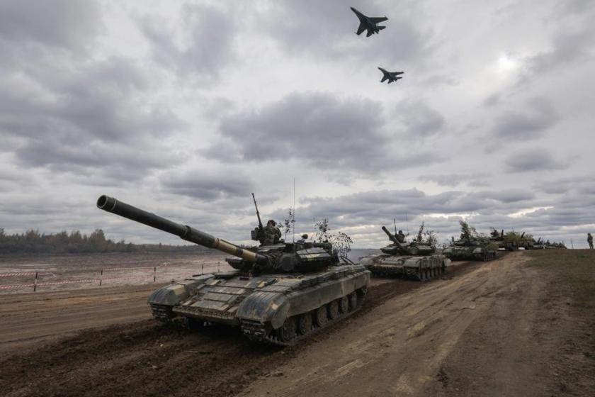Donbas'ta tansiyon yükseliyor: Rus helikopterleri hareketlendi