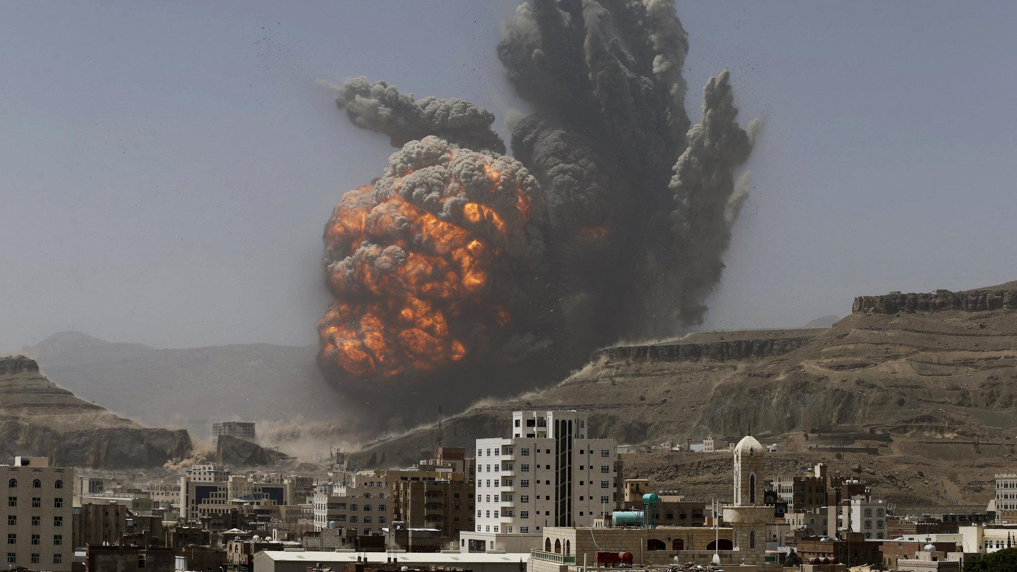 Koalisyon: İranlı milislere ait bomba yüklü İHA düşürdük