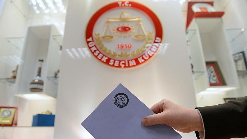 YSK, seçime katılma yeterliliği olan partileri açıkladı