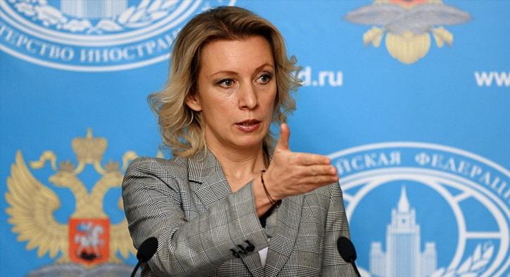 Zaharova: Rusya'nın iç işlerine yönelik saldırılar sürüyor