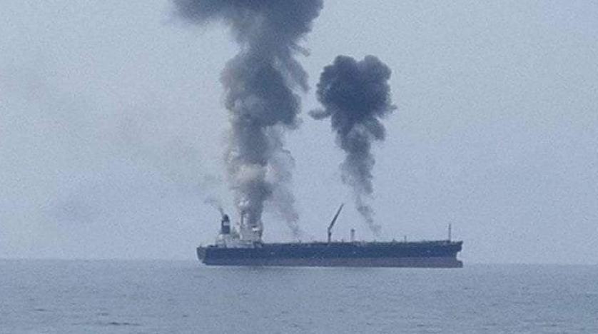 Suriye açıklarında petrol tankerinde patlama!