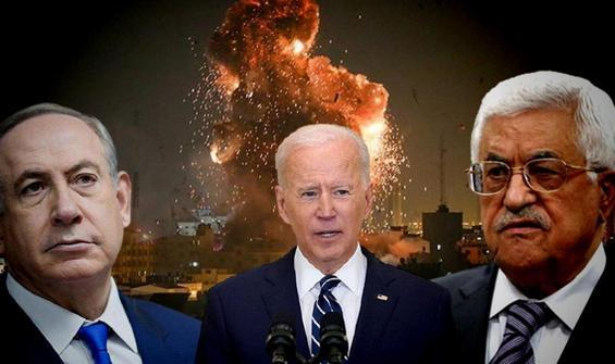 Biden, Netanyahu ve Abbas ile gerilimi görüştü