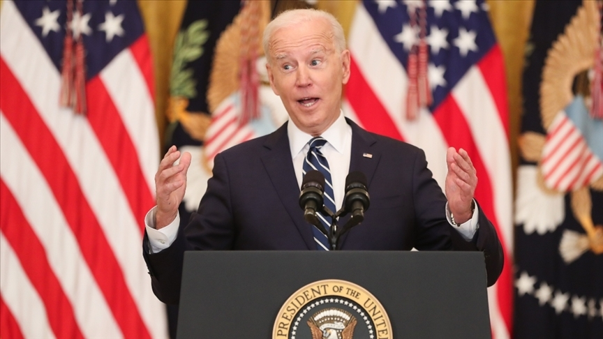 """Biden: """"Roketlere karşı İsrail'in kendini savunma hakkı var"""""""