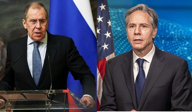 Lavrov ve Bliken, Rusya-ABD Zirvesi'ni görüştü