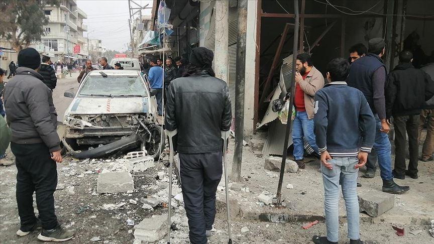 Cerablus'ta eş zamanlı iki bombalı saldırı!