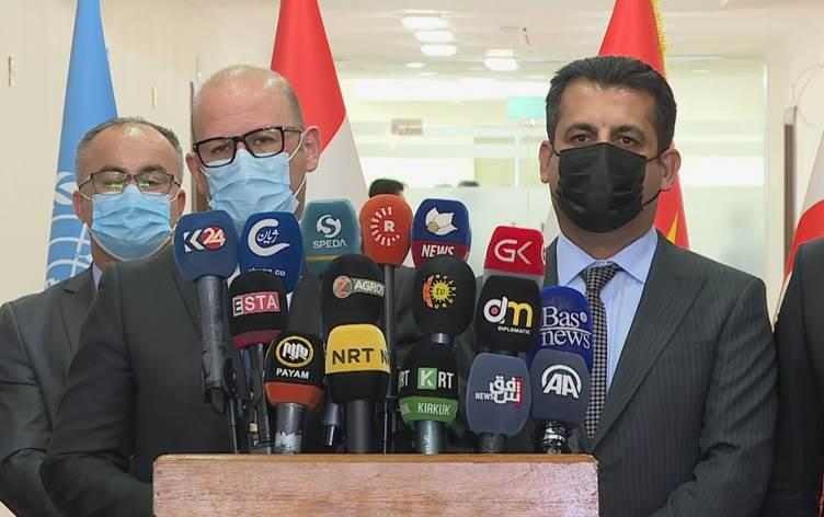 DSÖ: Yıl sonuna kadar Kürdistan'ın yüzde 20'si aşılanacak