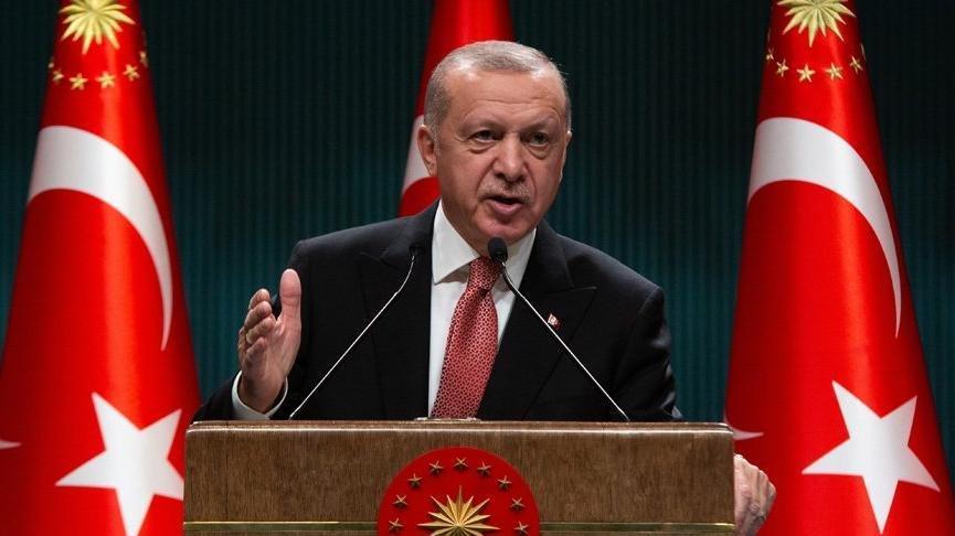 Erdoğan'dan tam kapanma ve kısıtlamalara ilişkin açıklama