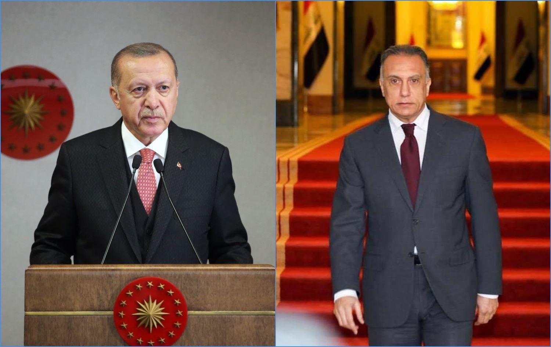 Ankara: Erdoğan ve Kazımi bir görüşme gerçekleştirdi