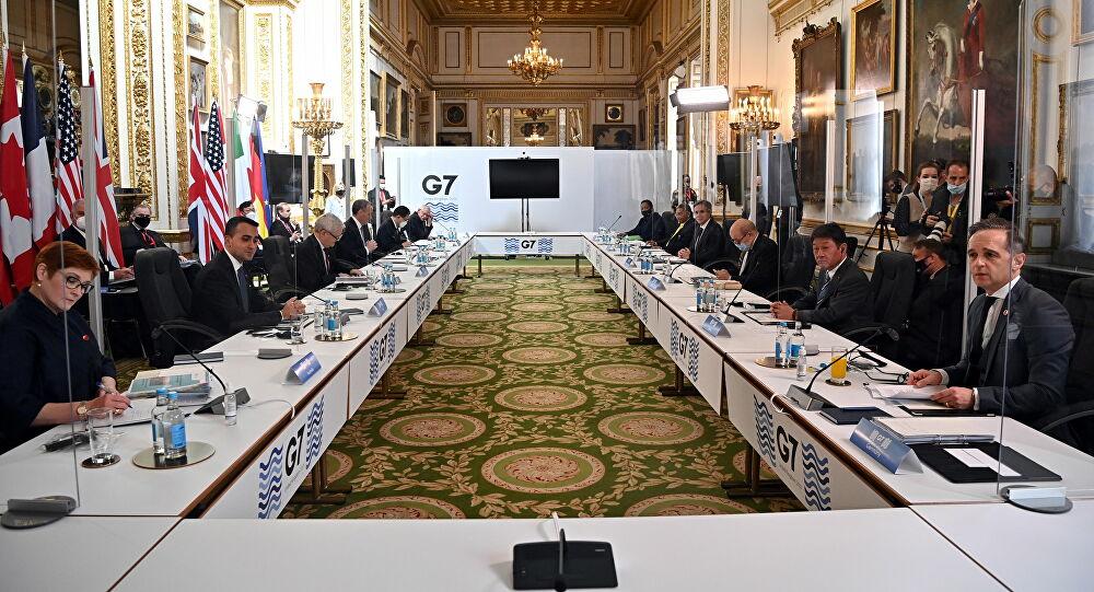 G7'den Rusya'ya ilişkin ortak bildiri!