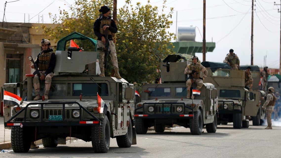 Irak Anti-terör güçleri ile Haşdi Şabi karşı karşıya geldi