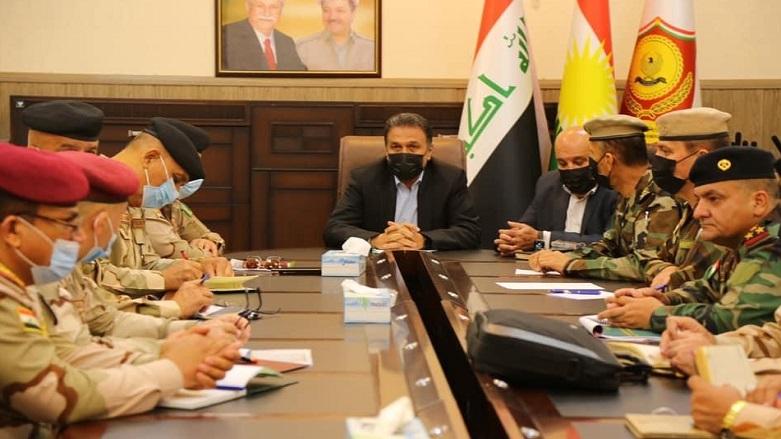 Irak'tan Peşmerge Bakanlığı'na üst düzey ziyaret!