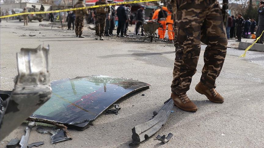 Afganistan'ın başkenti Kabil'de patlama: 25 ölü, 52 yaralı!