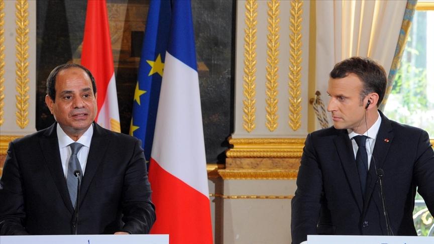 Macron, Sisi ile görüştü: Gündem İsrail-Filistin gerilimi