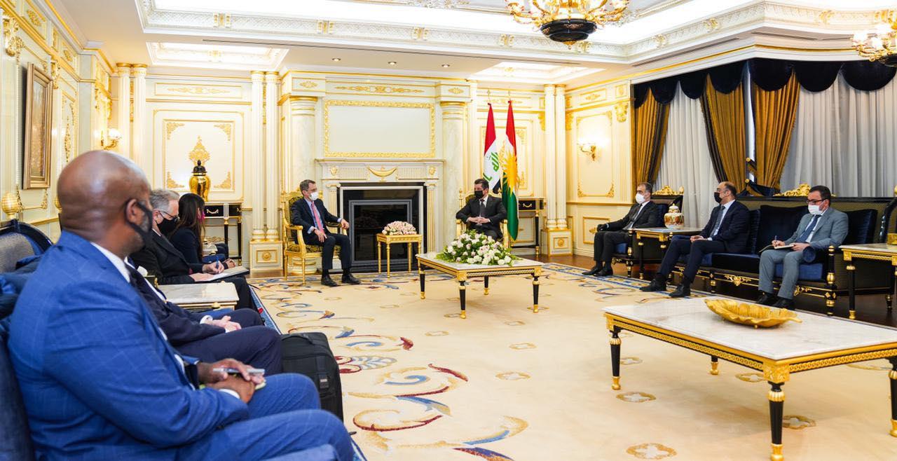 Başbakan, ABD heyeti ile Kürdistan, Irak ve Suriye'yi görüştü