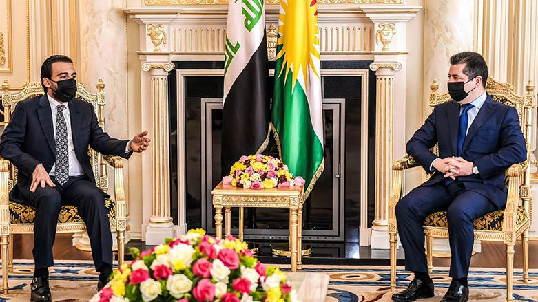 Başbakan ve Halbusi, Irak gündemini ele aldı
