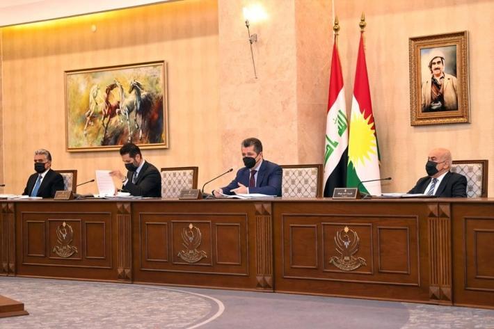 Kürdistan Hükümeti, 5 kanun teklifini onayladı