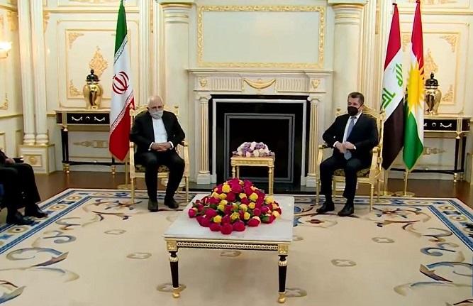 Başbakan, İran Dışişleri Bakanı Zarif'i kabul etti