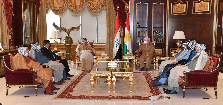 """Arap liderlerden Başkan Barzani'ye: """"Öncülük edin"""""""