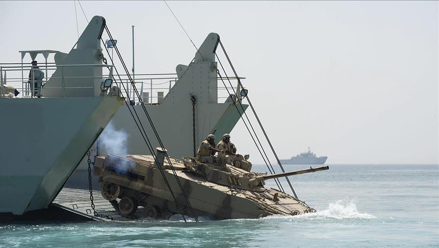 Fransa ve Mısır'dan Kızıldeniz'de ortak askeri tatbikat