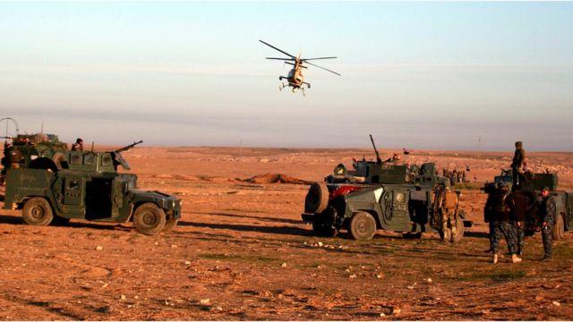 Irak: Musul'da IŞİD çetelerine operasyon yapıldı
