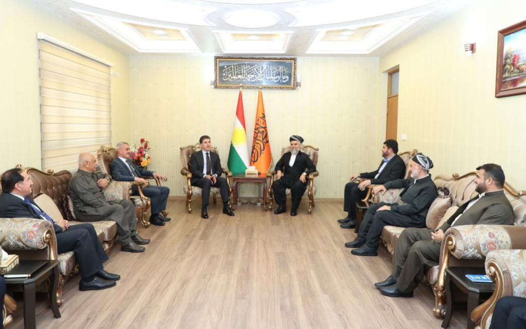 Neçirvan Barzani, Yekgirtu ve Komel liderleri ile görüştü