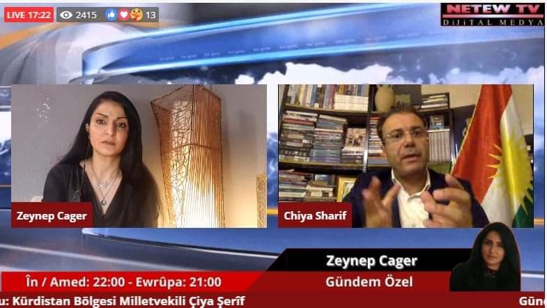 RÖPORTAJ | Sharif: Türk ve Arap bir olurken biz neden bir olamıyoruz?