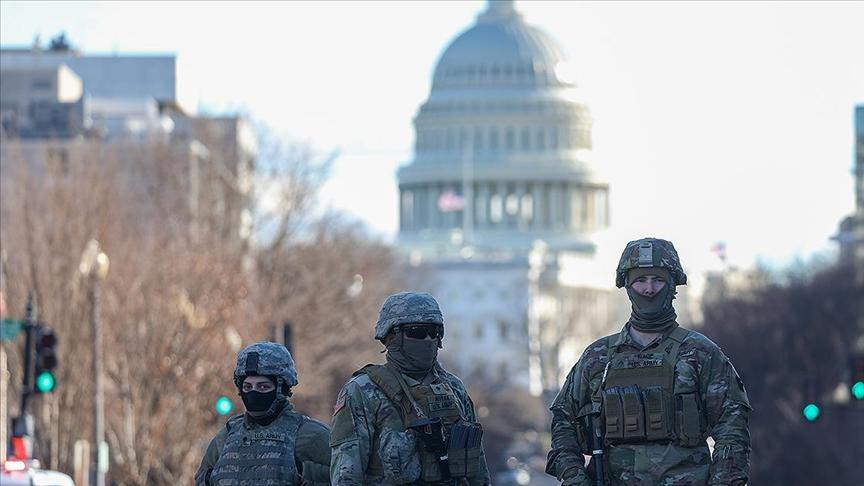 Pentagon'dan Washington'daki Ulusal Muhafızlara ilişkin karar