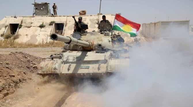 IŞİD çeteleri, Germiyan'da Peşmerge güçlerine saldırdı!