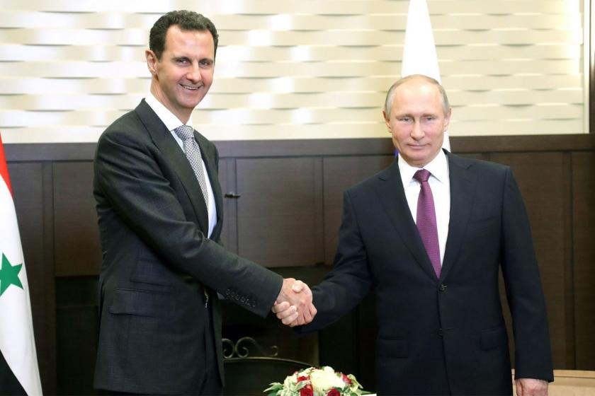Putin, Esad ile Suriye Başkanlık seçimi ve Kovid-19'u görüştü