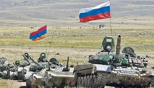 """Erivan: """"Rusya, Azerbaycan sınırına 2 askeri üs kuruyor"""""""