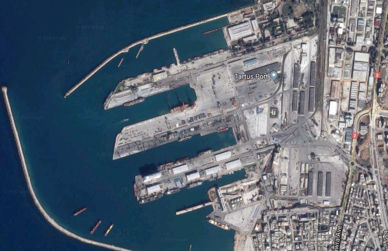 Suriye'de Banyas limanına İHA saldırısı!