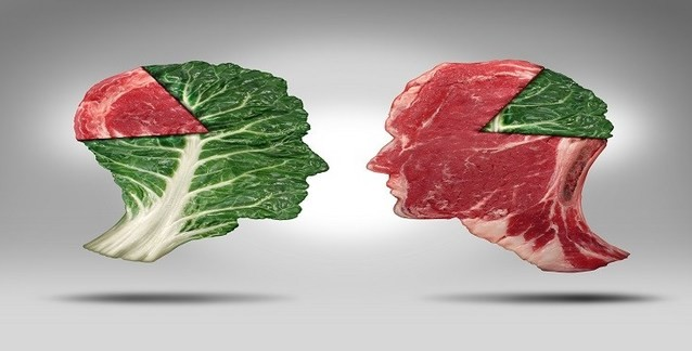 Araştırma sonuçlarına göre 'Vejeteryanlar et yiyenlerden' daha sağlıklı