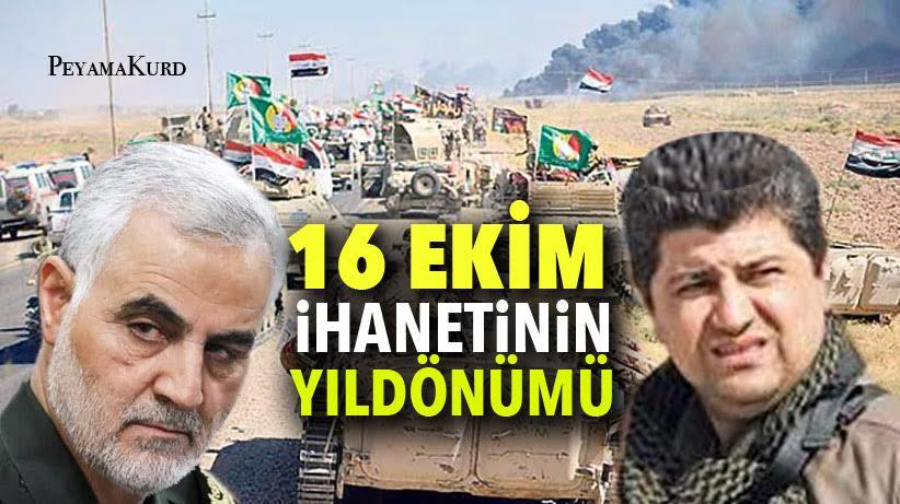"""""""İhanetçi klikin 16 Ekim planı, Kürtlerin sırtına vurulmuş bir hançerdi!"""""""