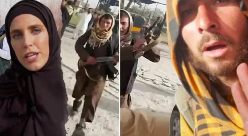 VİDEO |Taliban üyeleri CNN International ekibine saldırdı!