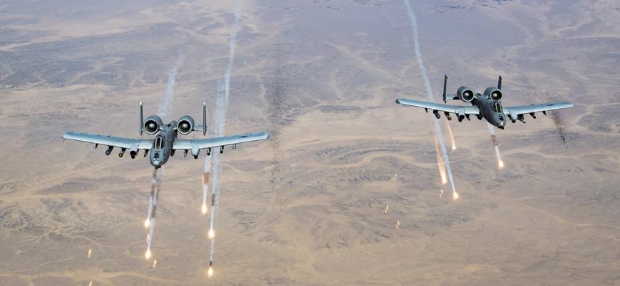 ABD ve Afganistan'tan Taliban'a hava saldırısı