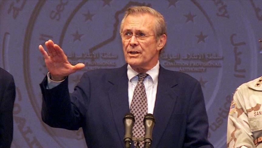 Afganistan ve Irak savaşında rol alan Rumsfeld hayatını kaybetti