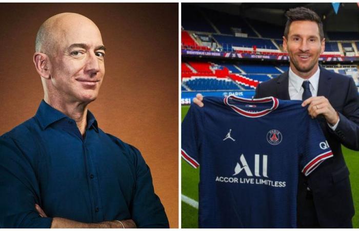 Messi'nin PSG'ye gidişi Jeff Bezos'u daha zengin yaptı!