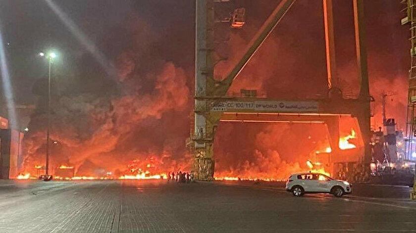 BAE | Dubai'de büyük bir patlama!